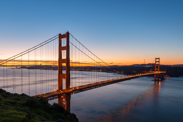 Early Morning at the Golden Gate Bridge