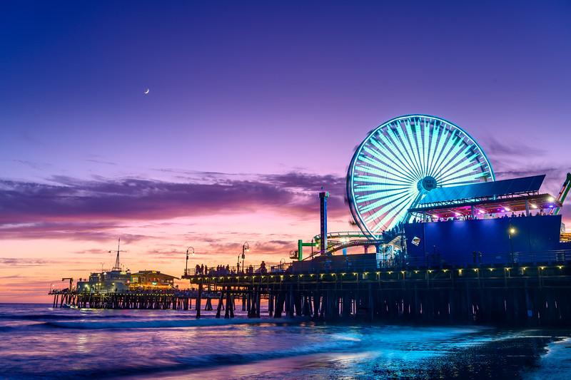 Santa Monica Pier 2019