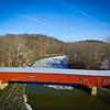 Covered Bridge over Sugar Creek-Parke County Indiana
