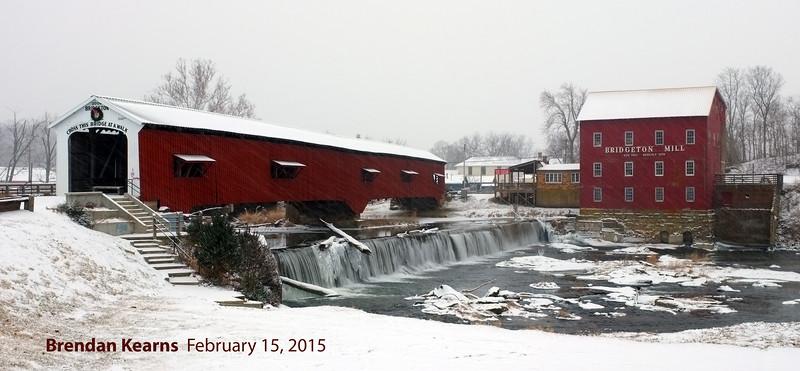 Bridgeton Mill and Covered Bridge