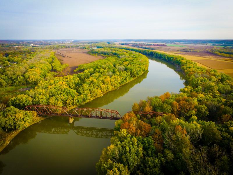 Wabash River Clinton