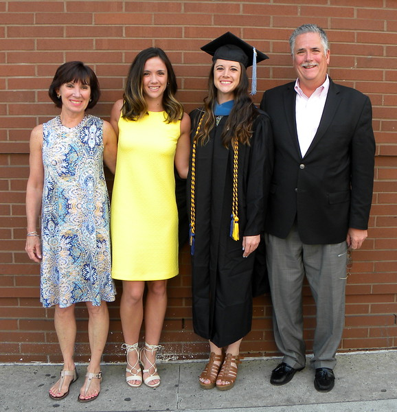 Lindsey - Graduation from Salus University