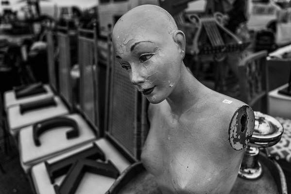Manequin With Cracks