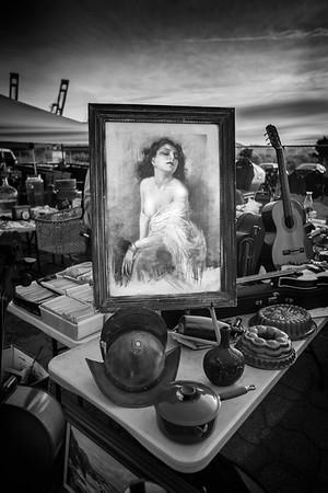 Nude At Flea Market