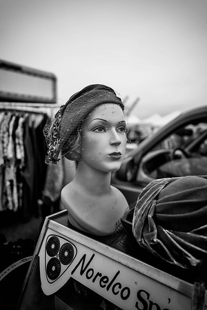 Mannequin With Hat Net