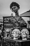 Statue With Long Neck