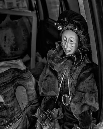 Puppet in Car