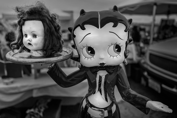 Betty with Doll Head