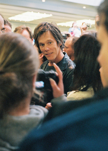 Actor Kevin Bacon at June, 2006, opening of Apple Fifth Avenue store in New York City
