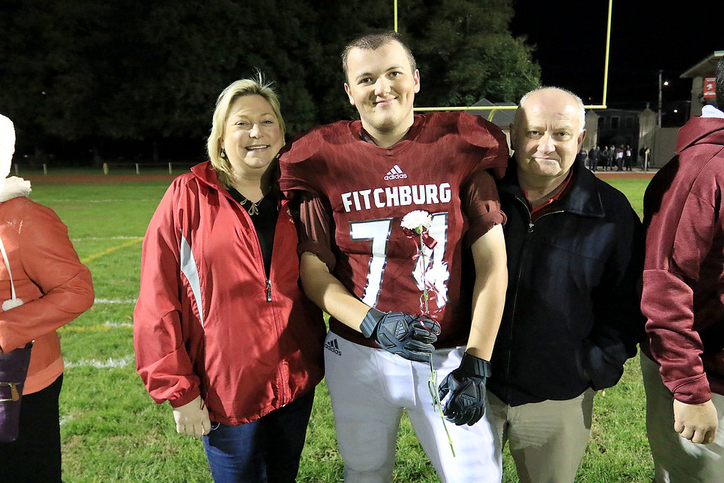 . Friday night was Homecoming and Senior night at the Fitchburg High School football game against Groton Dunstable Regional High School. SENTINEL & ENTERPRISE/JOHN LOVE
