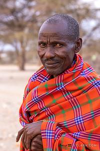 Man in shuka, Samburu Tribe, Archers Post