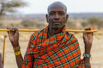 Man of Samburu Tribe, Archers Post