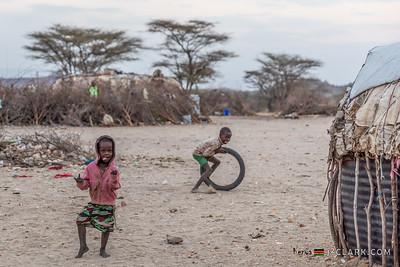 Children of Samburu Tribe, Archers Post