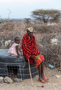 Goat Shed, Samburu Tribe, Archers Post