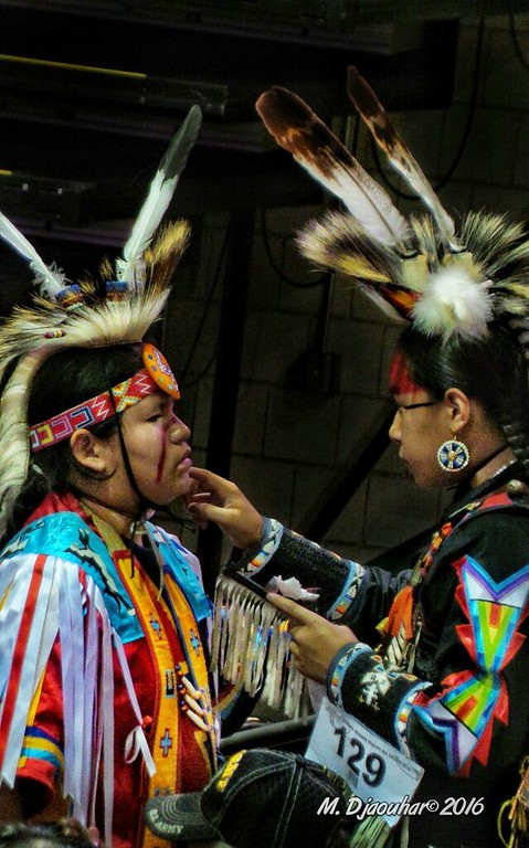 Faces of  the Pow Wow (He Sapa Wacipi Na Oskate) 2016