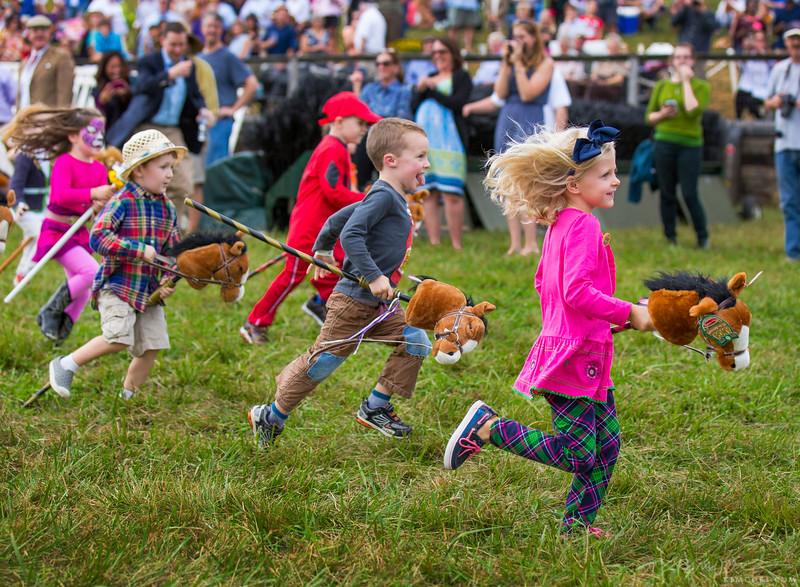 Stick Pony Races at the Legacy Chase