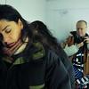 Filmmaker PARINE JADDO in Reykjavik (with Blue)
