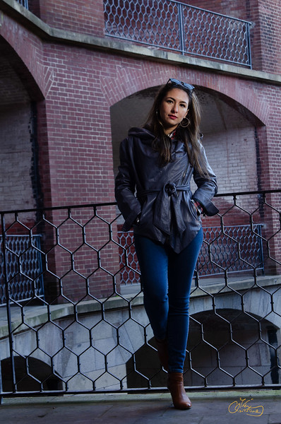 Off-camera flash shoot at Fort Point on January 05, 2020 in San Francisco, California