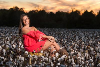 Danna in the Cotton