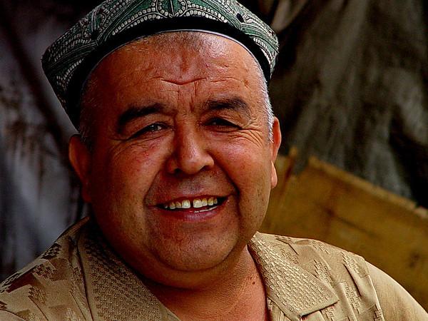 Uyghur gentleman, Kashgar
