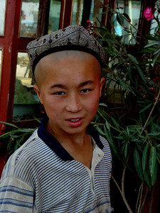 Older boy at Kashgar Bazaar DSC01842