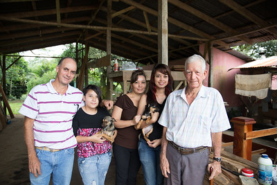 Costa Rican Family