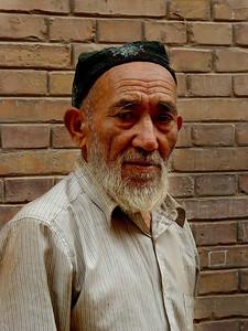 Uyghur man Kashgar DSC01645