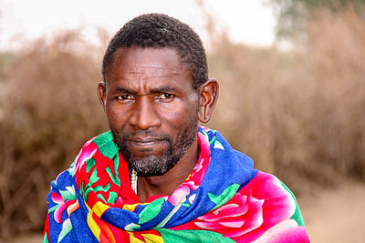 Massai Elder. He has four wives.