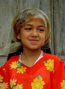 Uyghur girl, Kashgar