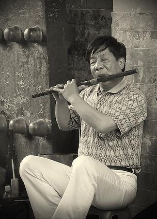 Street Musician, Temple of Heaven, Beijing