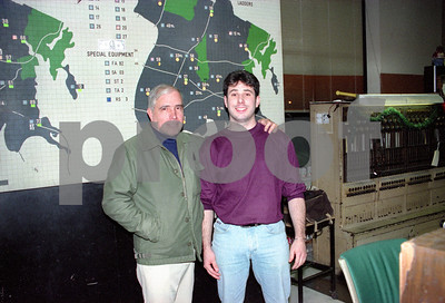 Joey D and Dad in better times