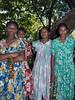 Four women, Ambryn Island, Vanuatu