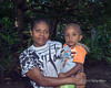 Portrait of a mother and child, Ambryn Island, Vanuatu
