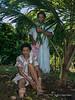 Seated and standing woman, Ambryn Island, Vanuatu