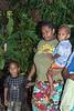 Woman with her children, Ambryn Island, Vanuatu