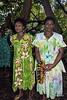 Two women, Ambryn Island, Vanuatu