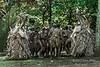 Rom dancers-2, Ambryn Island, Vanuatu