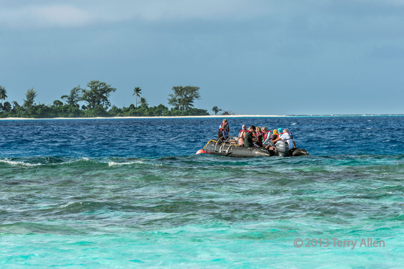 Getting ready to snorkel, Bodaluna (Bodelun) Is., Laughlan Island, PNG
