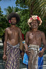 Portrain of village 'big men',  Bodaluna Island, Laughlan Islands, Papua New Guinea