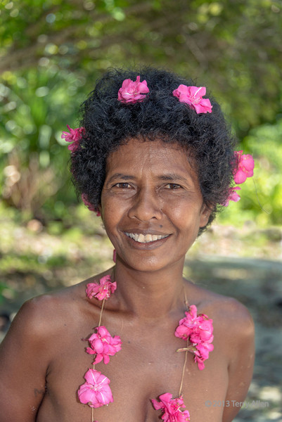 """Portrait of a Laughlan Island woman<br /> <br /> It's been a while since I posted any photos from my Melanesia trip.  After Kitava Island we visited the Laughlan Islands.  They are a remote archipelago of several low-lying coral islands situated in Milne Bay province, hundreds of miles east of the eastern tip of Papua New Guinea.  The main island is Bodaluna Island, called Bodelun Island on Google Earth. The islanders are skilled traditional canoe builders and live by subsistence gardening and fishing.  The islands are the furthest eastern point of the  Kula Ring, which I have discussed before here: <a href=""""http://goo.gl/pVnCiw"""">http://goo.gl/pVnCiw</a><br /> <br /> Several more photos of the islanders and the islands can be seen here, and I'll post a few more tomorrow: <a href=""""http://goo.gl/W2CPS7"""">http://goo.gl/W2CPS7</a><br /> <br /> 23/10/13  <a href=""""http://www.allenfotowild.com"""">http://www.allenfotowild.com</a>"""