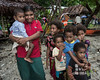 Young mother and child, and other children, Bonarua Is, Brumer Islands, PNG<br /> <br /> 32 mm, 1/60 sec, f 7.1, ISO 560, flash fill