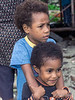 Portrait of two brothers,  Bonarua Is, Brumer Islands, PNG