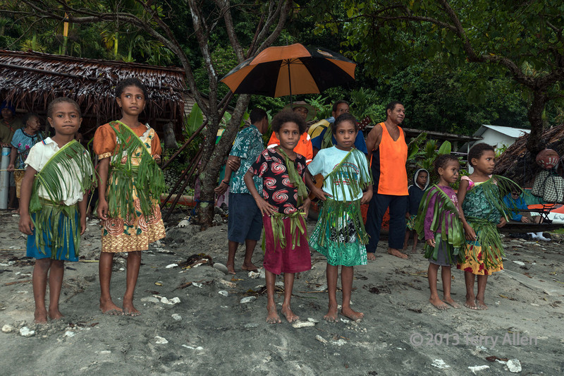 Welcoming committee, Bonarua Is, Brumer Islands, PNG<br /> <br /> 24 mm, 1/60 sec, f 7.1, ISO 320, flash fill