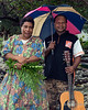 Couple under an umbrella, Bonarua Is, Brumer Islands, PNG<br /> <br /> 55 mm, 1/60 sec, f 7.1, ISO 640, flash fill
