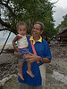 Father and son,  Bonarua Is, Brumer Islands, PNG