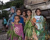Nancy with children, Bonarua Is, Bumer Islands, PNG