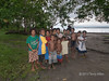 Group of children, Fergusson Is, D'Entrecasteaux Islands, PNG
