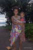 Woman and baby son, Fergusson Is, D'Entrecasteaux Islands, PNG