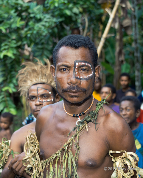 Portrait of a warrior-3, Dobu Is, D'Entrecasteaux Island, PNG
