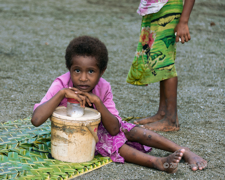 Young girl, Dobu Island, D'Entrecasteaux Islands, PNG